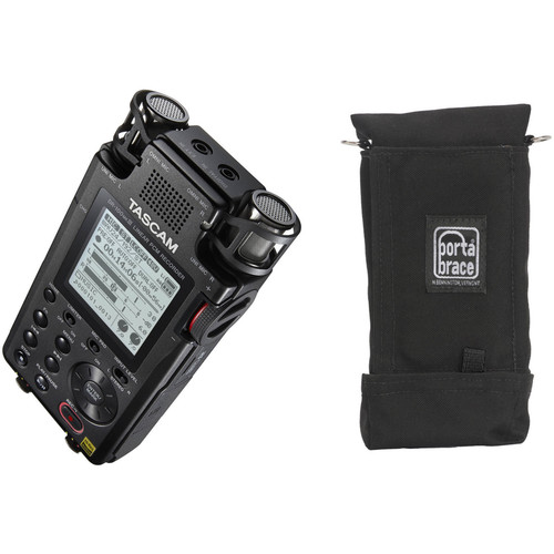 Tascam DR-100MKIII Linear PCM Recorder and Case Kit