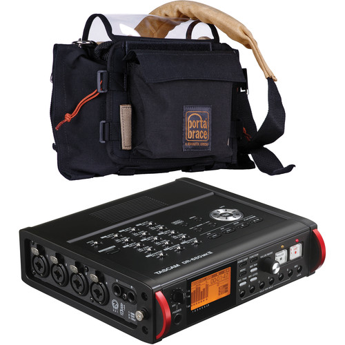 Tascam DR-680MKII Recorder and AR-DR680B Case Kit
