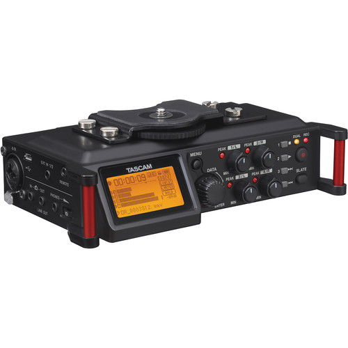 Tascam DR-70D 4-Channel Audio Recorder & Bag Kit