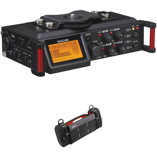 Tascam DR-70D 4-Channel Audio Recorder & Bag Kit