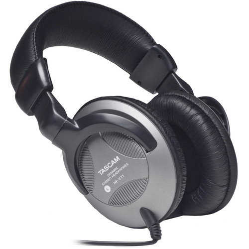Tascam HP-VT1 Dynamic Closed-Back Stereo Headphones