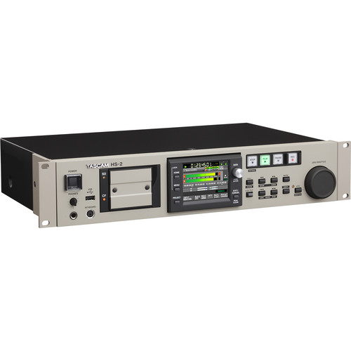 Tascam HS-2 Rackmount Solid-State Stereo Audio Recorder (B Stock)
