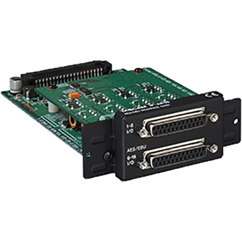 Tascam IF-AE16 16-Channel AES/EBU Interface Card for DA-6400 64-Channel Recorder