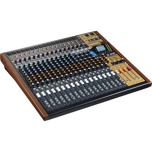 tascam model 24 digital mixer recorder and usb model 24 b h. Black Bedroom Furniture Sets. Home Design Ideas