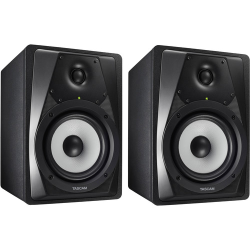 "Tascam Pair of VL-S5 5.25"" Powered Studio Monitors"