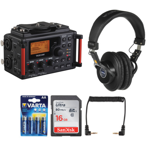 Tascam DR-60DmkII to Camera Essentials Kit