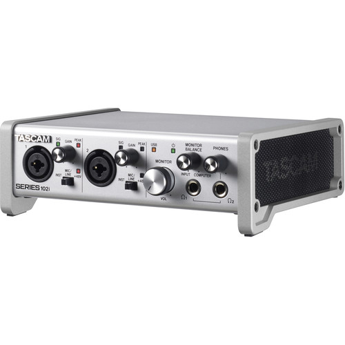 Tascam SERIES 102i USB Audio/MIDI Interface