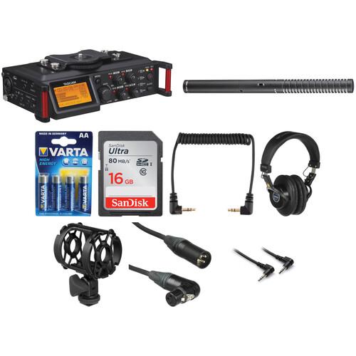 Tascam Tascam DR-70D Recorder Filmmaker Kit
