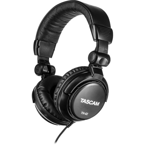 Tascam TH-02 Studio Headphones (Black)
