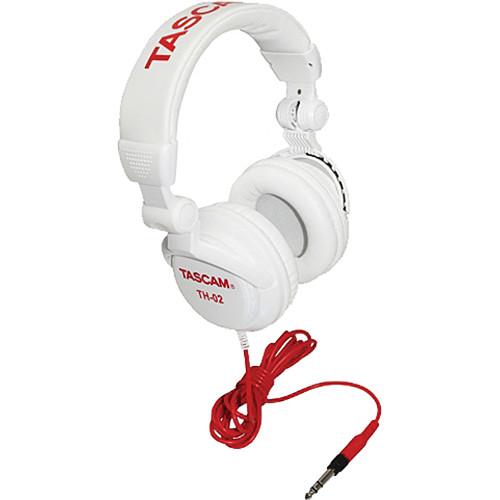 Tascam TH-02 Studio Headphones (White)