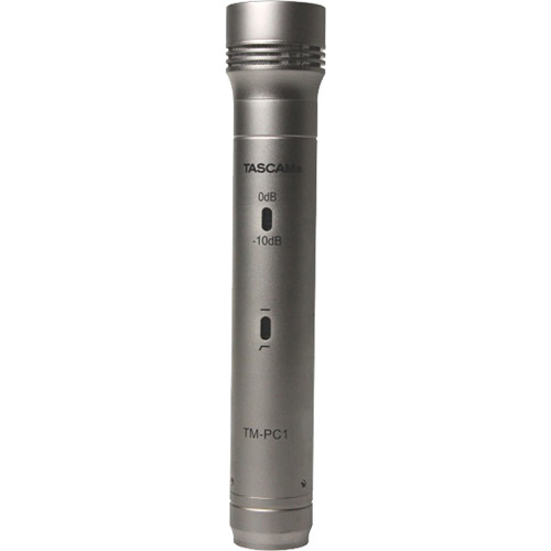 Tascam TM-PC1 Pencil Condenser Microphone (Single Microphone)