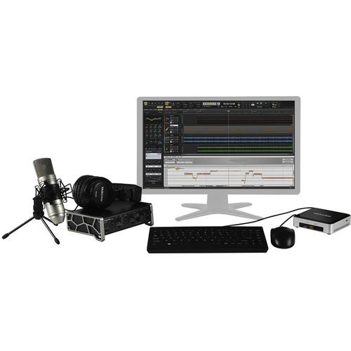 Tascam Track Factory Project - Desktop Audio Production Preconfigured Bundle