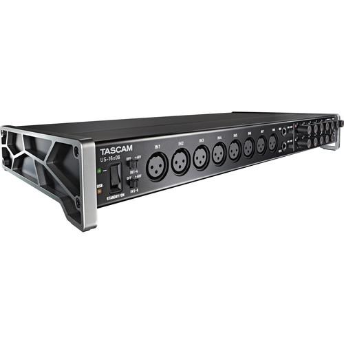 Tascam US-16x08 USB Audio/MIDI Interface