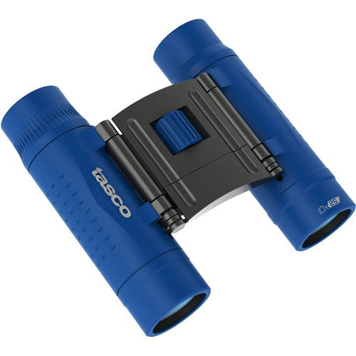 Tasco 10x25 Essentials Compact Binoculars (Blue)