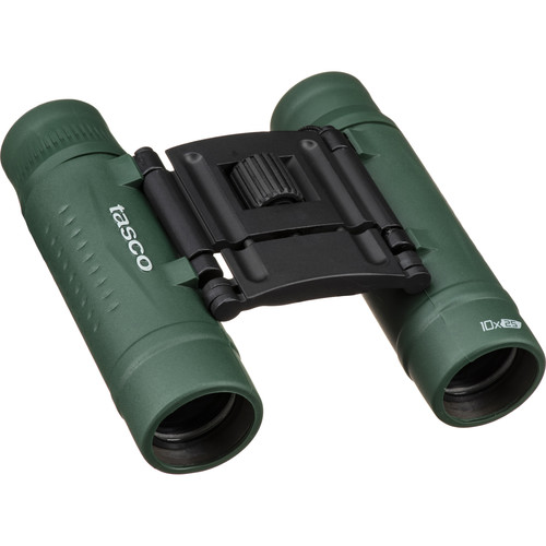 Tasco 10x25 Essentials Compact Binocular (Green)