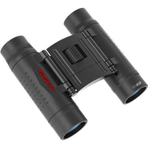Tasco 12x25 Essentials Binocular (Black, Box)