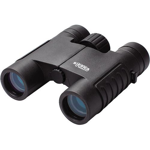 Tasco 8x25 Sierra Compact Binocular (Black, Clamshell Packaging)