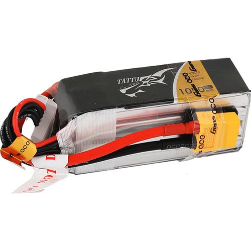 Tattu 45C LiPo Battery Pack (1050mAh, 11.1V, 3S1P)