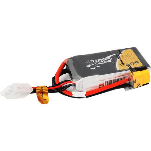 Tattu 75C LiPo Battery Pack (1050mAh, 11.1V, 3S1P)
