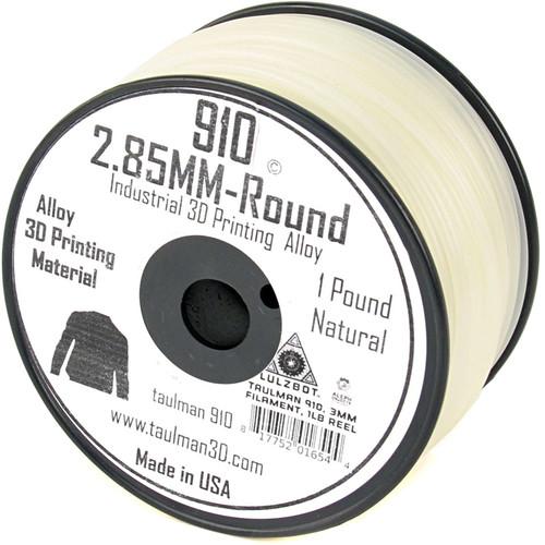 taulman3D 2.85mm Alloy 910 Filament (Natural, 1lb, 490')
