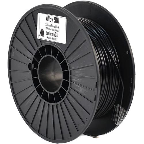 taulman3D 2.85mm Alloy 910 Filament (Black, 1lb, 490')
