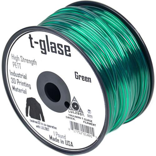 taulman3D T-Glase 2.85mm Filament 1lb. Reel (Green)