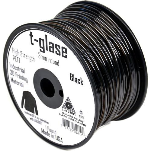 taulman3D T-Glase 2.85mm Filament 1lb. Reel (Black)