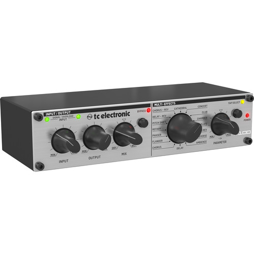 TC Electronic M100 Stereo Effects Processor with Reverb, Delay, and More