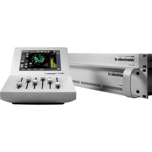 TC Electronic System 6000 Mainframe MK II for Mastering with TC Icon MK II Controller & Remote