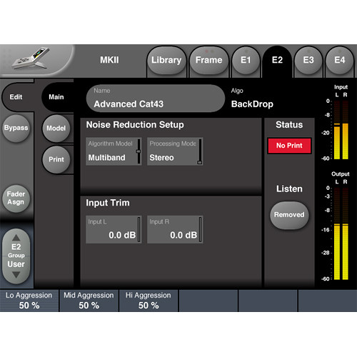 TC Electronic BACKDROP License - Stereo Broadband Noise Reduction for System 6000 MKII