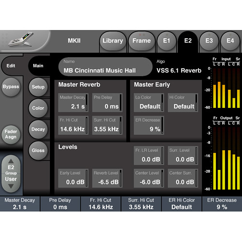 TC Electronic Multichannel Reverb License for System 6000 MKII