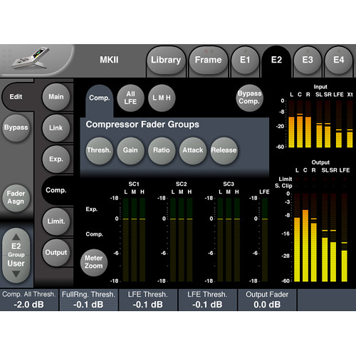 TC Electronic Multichannel Mastering License for System 6000 MKII