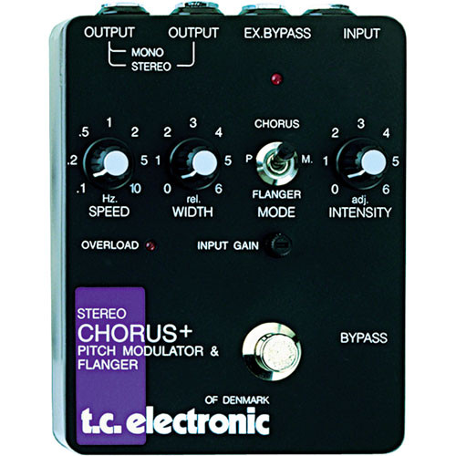 TC Electronic TC Stereo Chorus/Flanger Pedal
