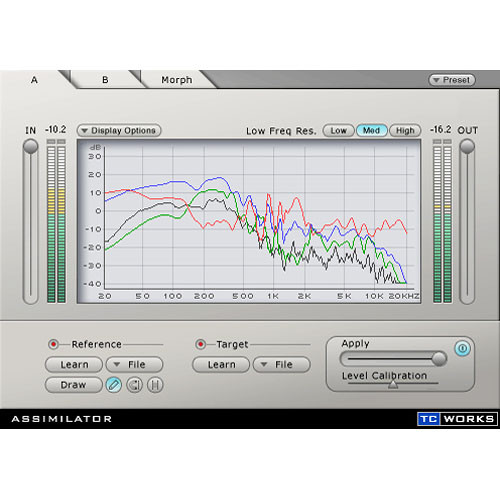 TC Electronic Assimilator - EQ-Curve Assimilation and Morphing Plug-In for PowerCore