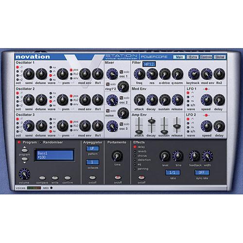 TC Electronic Novation V-Station - Virtual Analog Synthesizer for PowerCore