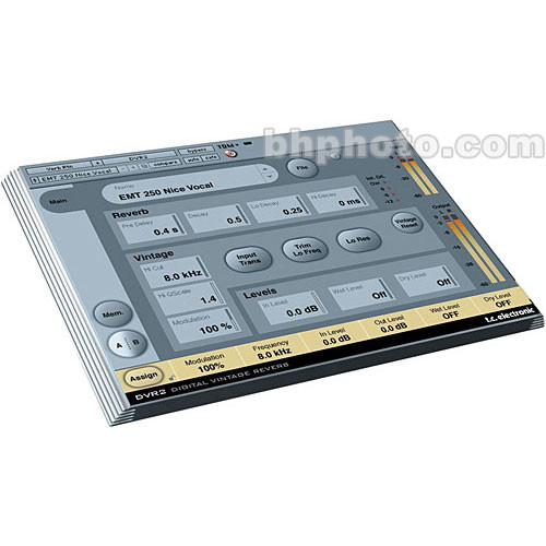 TC Electronic DVR2 Reverb Plug-In