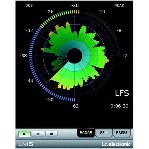 TC Electronic LM5 - Loudness Radar Meter (TDM)