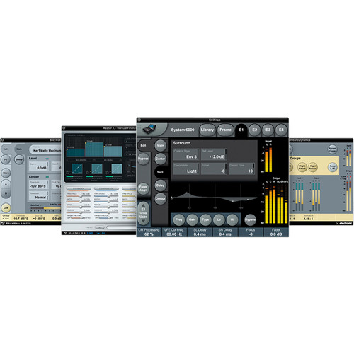 TC Electronic Pro Tools TDM Mastering Bundle - Mastering Software