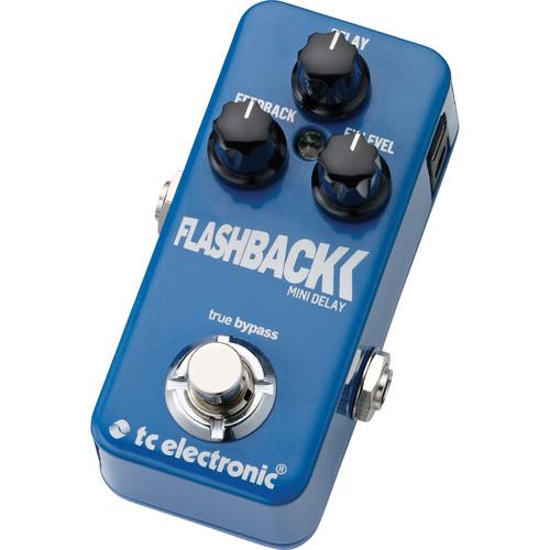 TC Electronic Flashback Mini Delay Pedal with TonePrint