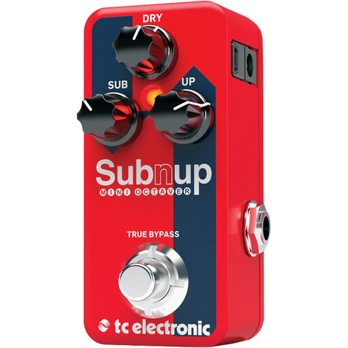 TC Electronic Sub'N'Up Mini Octaver Pedal with TonePrint Software