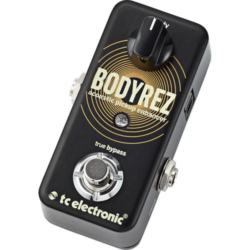 TC Electronic BodyRez Acoustic Pickup Enhancer Pedal