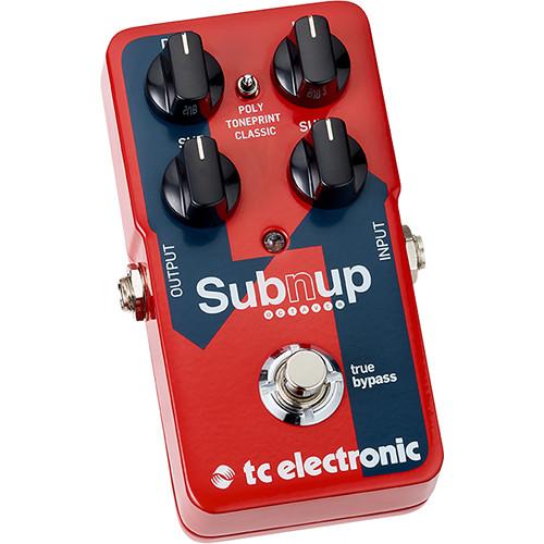 tc electronic sub 39 n 39 up octaver octave pedal 960822001 b h. Black Bedroom Furniture Sets. Home Design Ideas