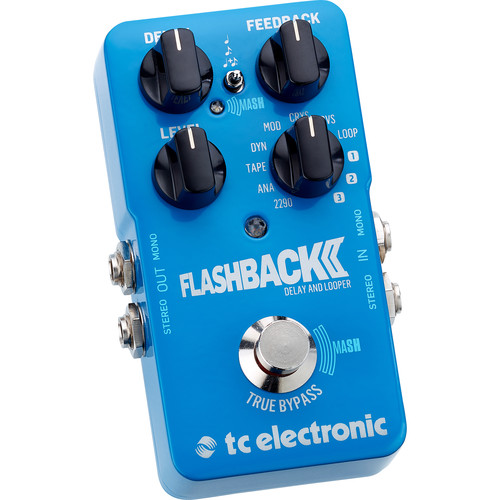 TC Electronic Flashback 2 Delay Pedal for Electric Guitar