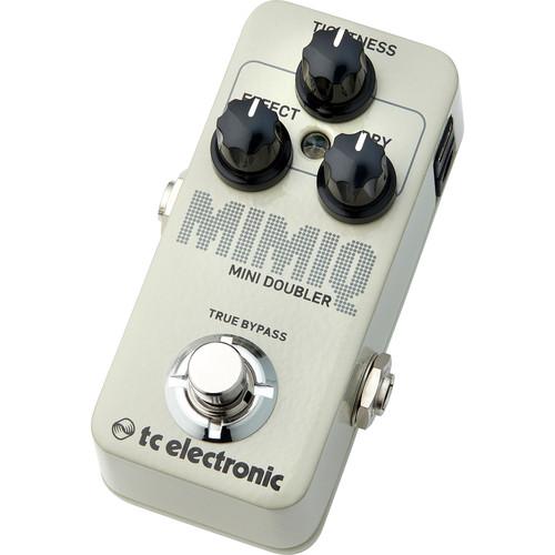 TC Electronic Mimiq Mini Doubler Pedal for Electric Guitar