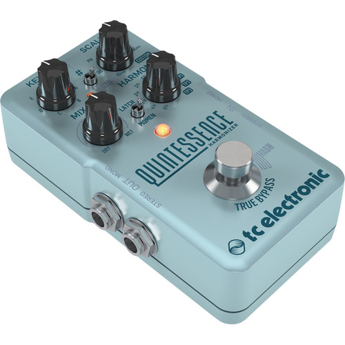 TC Electronic Quintessence Dual-Voiced Harmony Pedal with MASH Technology