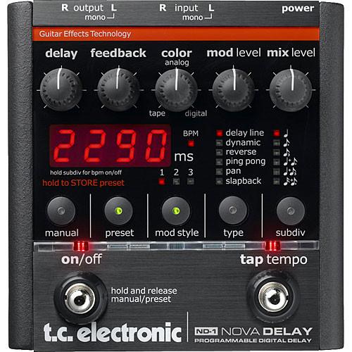 TC Electronic ND-1 - Nova Delay Guitar Pedal