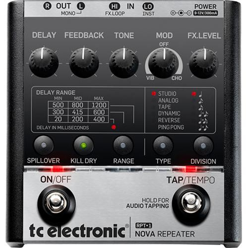 TC Electronic Nova Repeater Floor Pedal