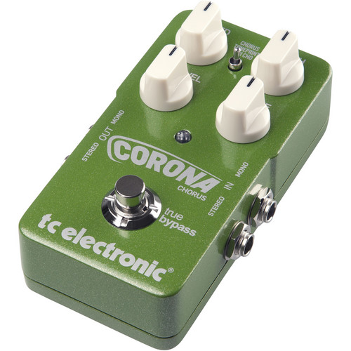 TC Electronic Corona Chorus - Chorus Foot Pedal with TonePrint