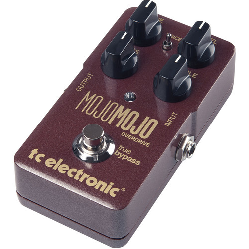 TC Electronic MojoMojo Overdrive - Tube Amp Overdrive Effect Foot Pedal