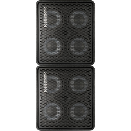 TC Electronic Dual RS410 600W 4x10 Bass Cabinets